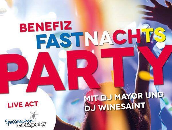 Benefiz-Fastnachts-Party