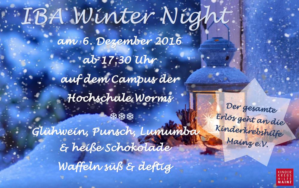 IBA Winter Night