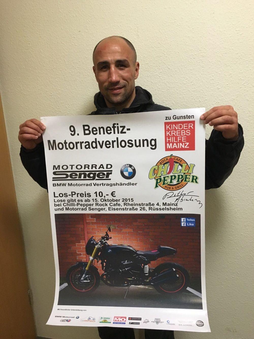 Motorrad Benefizverlosung