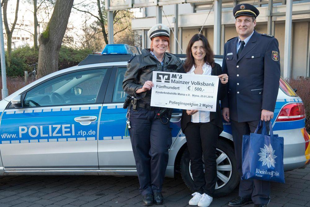 Polizei Spende