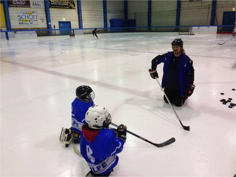 Schnuppertraining Eishockey