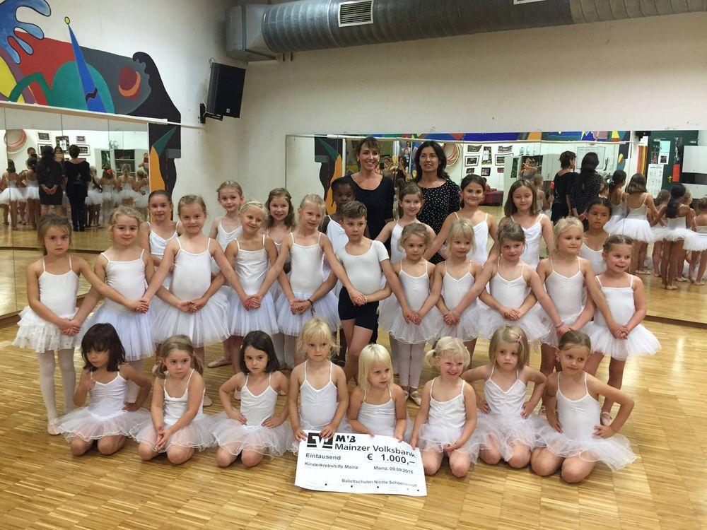 Spende Ballettschule