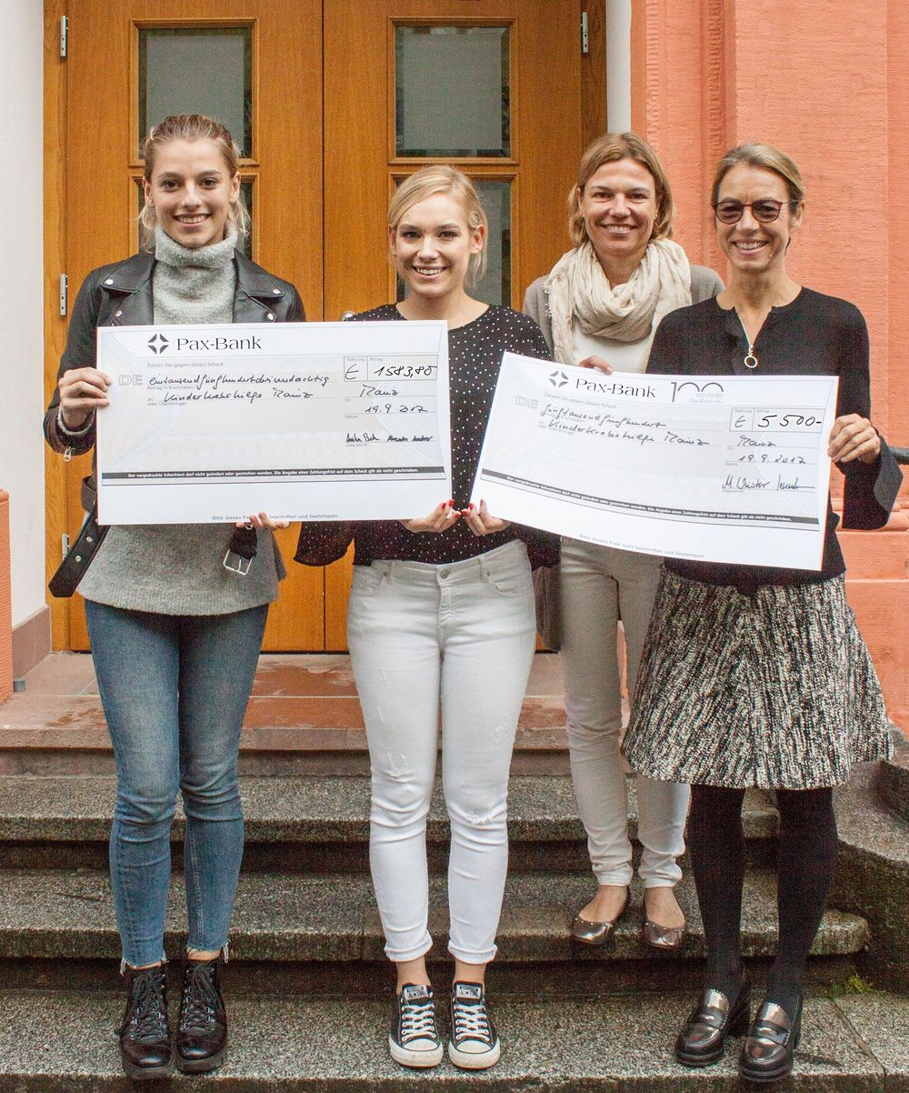 Spende Maria Ward-Schule