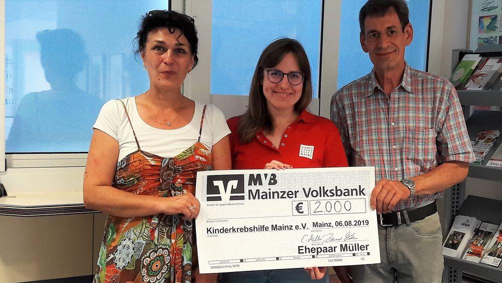 Spende Ehepaar Müller