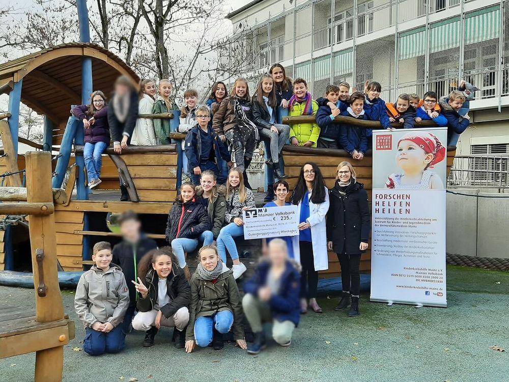 Spende Gutenbergschule Wiesbaden