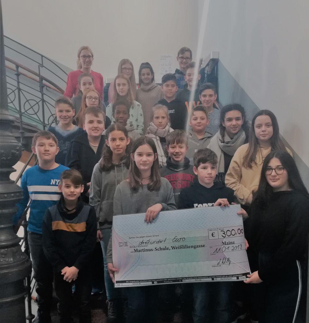 Spende Martinusschule 2019