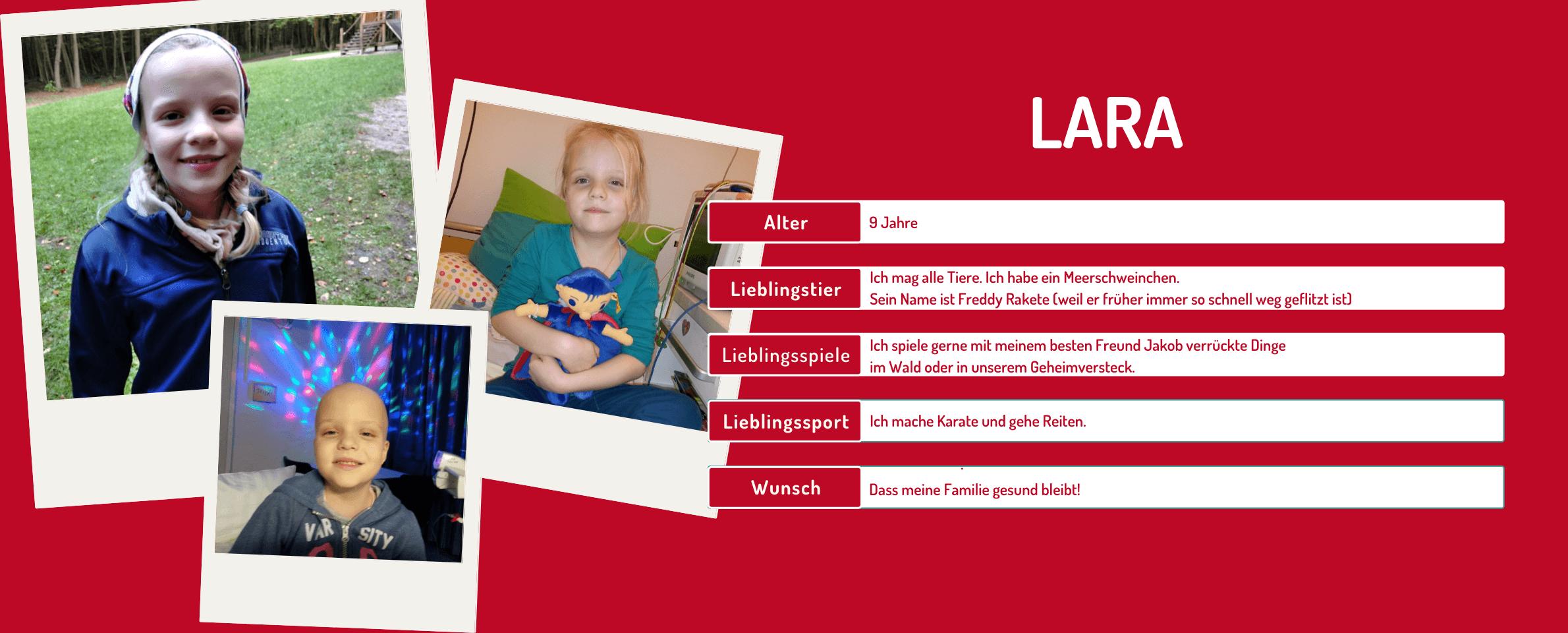 Steckbrief Lara