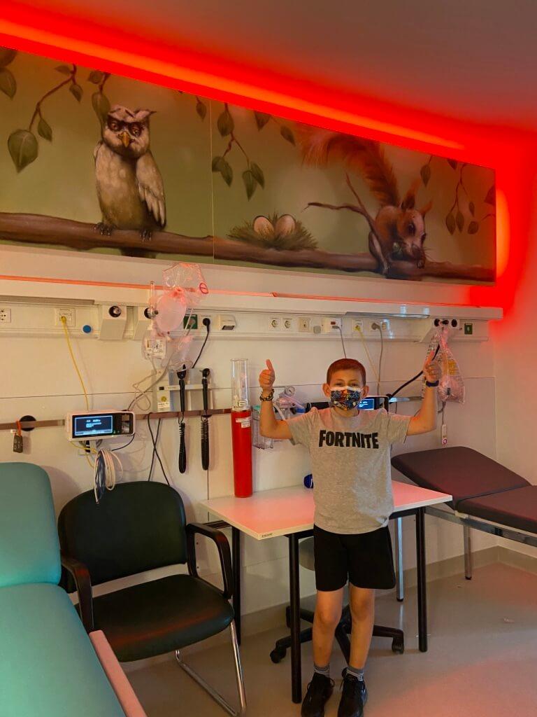 Vorstellung des Lichtkonzepts (Innovation Kinderkrebszentrum)